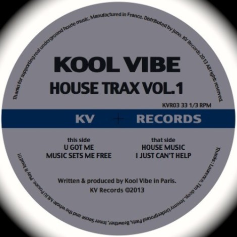 Kool Vibe House Trax Vol.1 KVR03